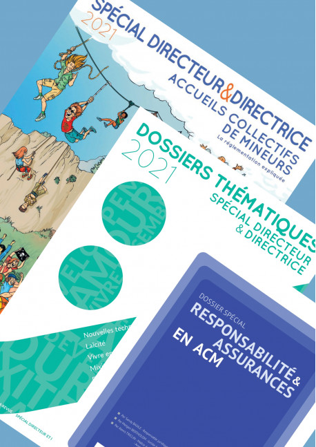 SPECIAL DIRECTEUR & DIRECTRICE 2021 + DOSSIER RESPONSABILITE 2021 + DOSSIERS THEMATIQUES 2021